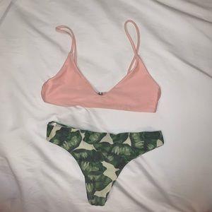 Pink/ Green Bikini from Zaful??